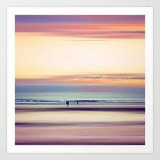 Pastel Horizons Art Print