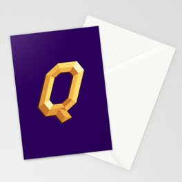 The Queen Logo Stationery Cards