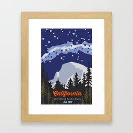 Yosemite. Framed Art Print