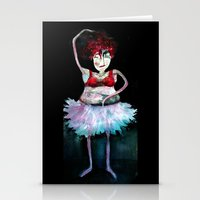 ballerina Stationery Cards featuring Ballerina by clemm