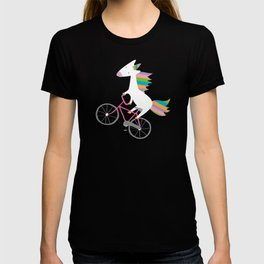 bike unicorn  T-shirt