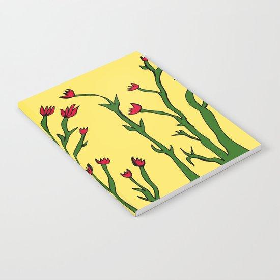 Long flowers Notebook