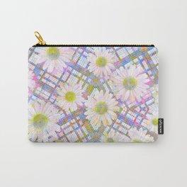 Daisy Plaid Carry-All Pouch
