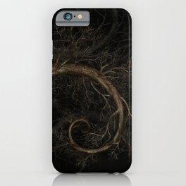 Golden spiral Tree #1 iPhone Case