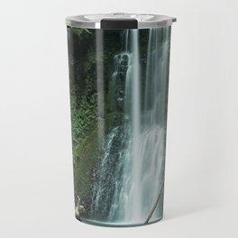 Ecola Falls in Oregon's Columbia River Gorge Travel Mug