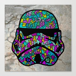 Colourful Strom Trooper Canvas Print