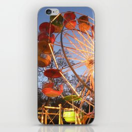 It's a Beautiful Night for a Ride on a Ferris Wheel iPhone Skin