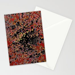 Abstract Mozaik Stationery Cards