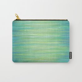 Ombre Aqua Bliss painting Carry-All Pouch
