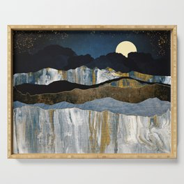 Painted Mountains Serving Tray
