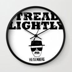 Breaking Bad - Tread Lightly - Heisenberg Wall Clock