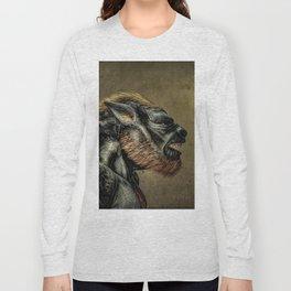 Portrait of a Werewolf Long Sleeve T-shirt
