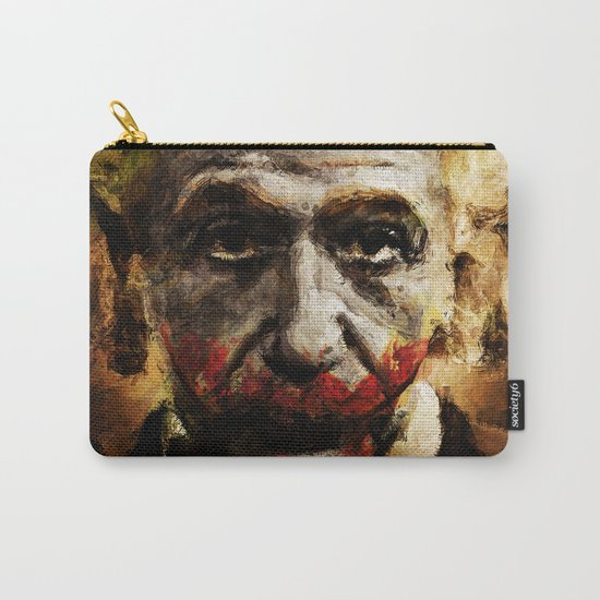 Einstein The Joker (Relatively Funny) Carry-All Pouch