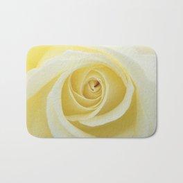 Beautiful Yellow Rose Bath Mat