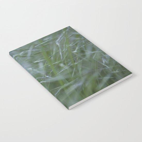 Grass abstract Notebook