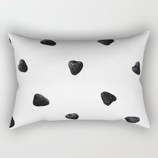 black raspberries Rectangular Pillow