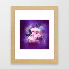 Dusk Hawk Moths Framed Art Print