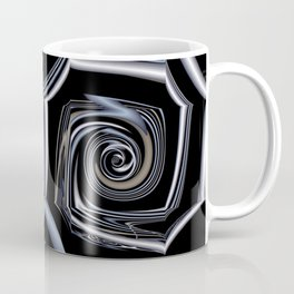 TGS Fractal Abstract in Winter Coffee Mug
