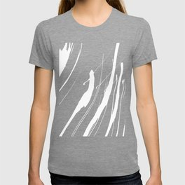 Abstract Swatches // White T-shirt