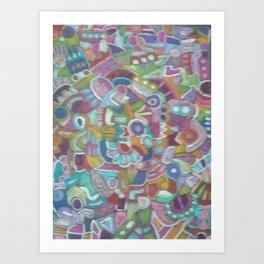 Muddle 1 Art Print