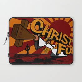 Christ Fu - Love Thy Unconscious Enemy Laptop Sleeve