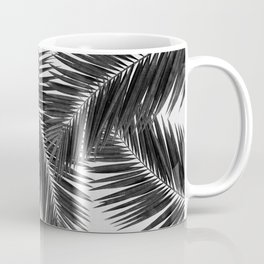 Palm Leaf Black & White III Coffee Mug