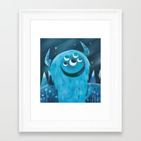 wonder Framed Art Prints featuring Wonder by Greg Abbott