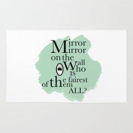 Mirror Mirror - Snow White Inspired Rug