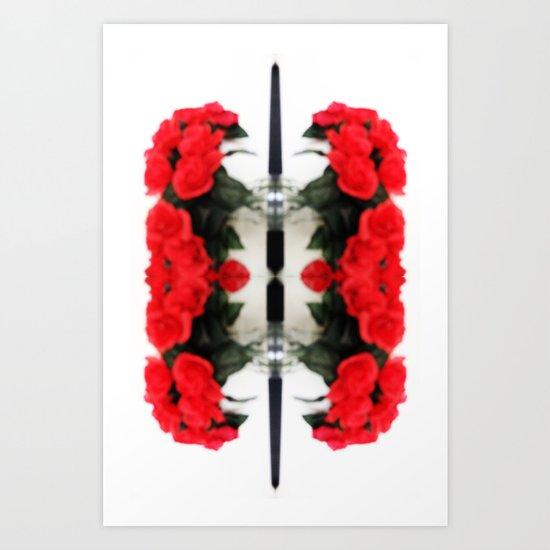 Summer Red Skulls 2012 Art Print