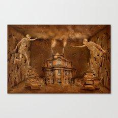 Papierheizer Canvas Print