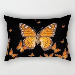 WORLD OF MONARCH BUTTERFLIES Rectangular Pillow