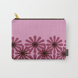 Pink Flower Pattern 1 Carry-All Pouch