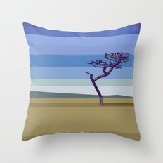 Minimal savannah Throw Pillow