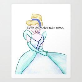 Cinderella... Art Print
