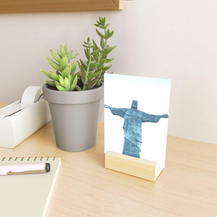 Christ Redeemer Rio de Janeiro - Art Mini Art Print