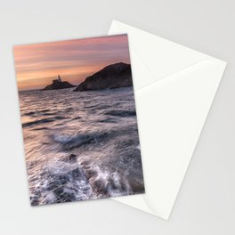 Mumbles lighthouse Stationery Cards