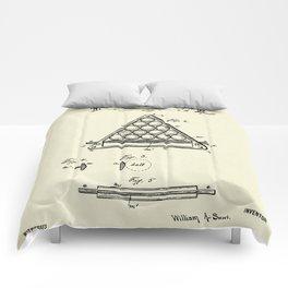 Pool Ball Frame-1891 Comforters