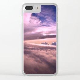 Cloudscape - 4 Clear iPhone Case