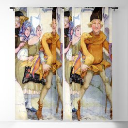 """""""The Golden Goose"""" by Anne Anderson Blackout Curtain"""