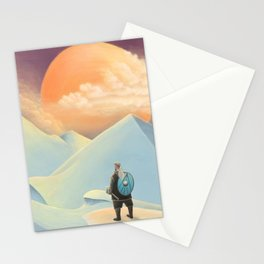 Thor going to Jotunheim Stationery Cards