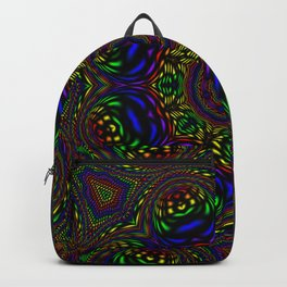 Rainbow Kaleidoscope 3 Backpack