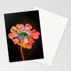 Psychedelic Floral Dew Stationery Cards