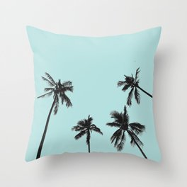 Palm trees 5 Throw Pillow