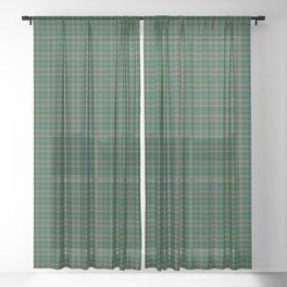 Cockburn Tartan Plaid Sheer Curtain