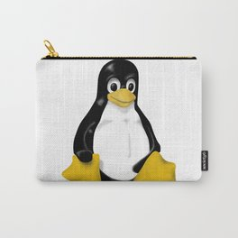 contra siting Linux tux penguin Carry-All Pouch