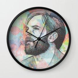 Caleb Followill - Beautiful War Wall Clock