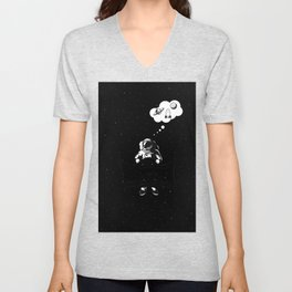Space dreams Unisex V-Neck
