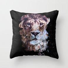 Heterochromia Iridum Throw Pillow