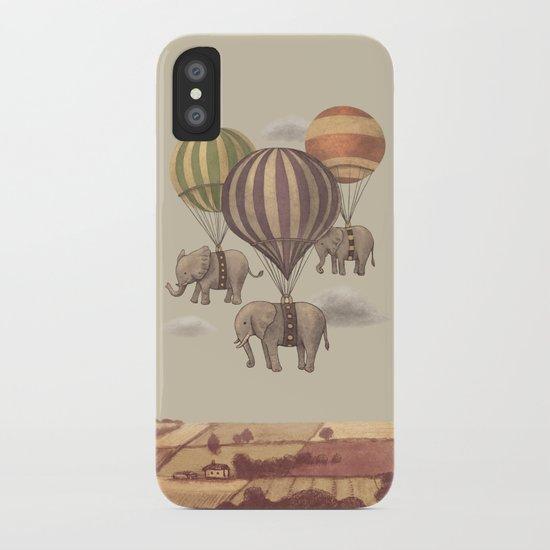 Flight of the Elephants  iPhone Case