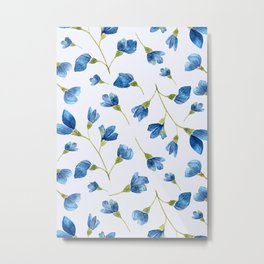 Floral pattern 8 Metal Print